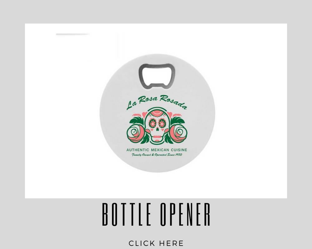 Custom Bottle Opener Corporate Coasters