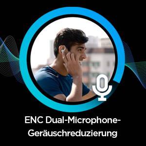 Amazfit PowerBuds - ENC Dual-Microphone-Geräuschreduzierung