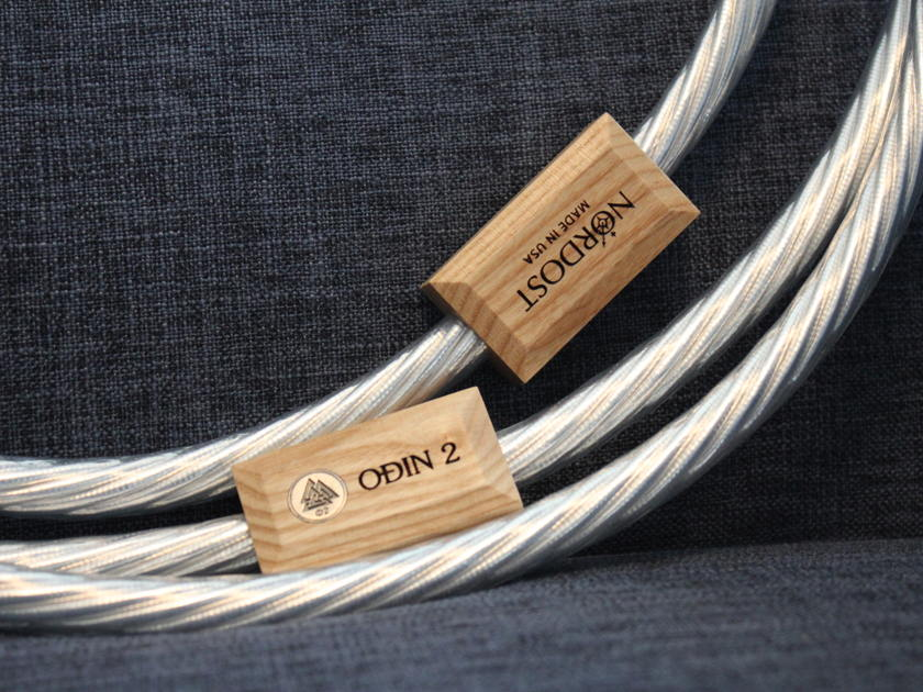 Nordost Odin 2 Power Cord - 2.5 Meter - 15 Amp  - Like New Condition!
