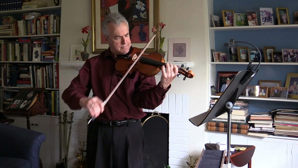 Our Principal Concertmaster Martin Chalifour invites you into his living room