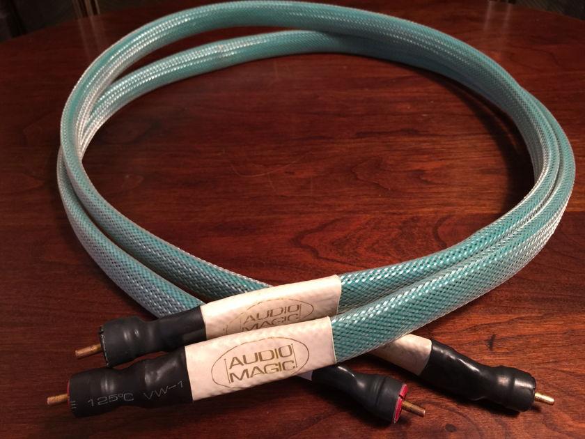 Audio Magic Cables Trinium XL 1Meter Interconnect RCA