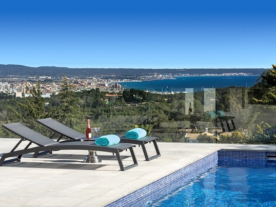 Puerto Andratx - Stunning newly built villa for sale in Son Vida, one of the most sought after residential areas in Mallorca