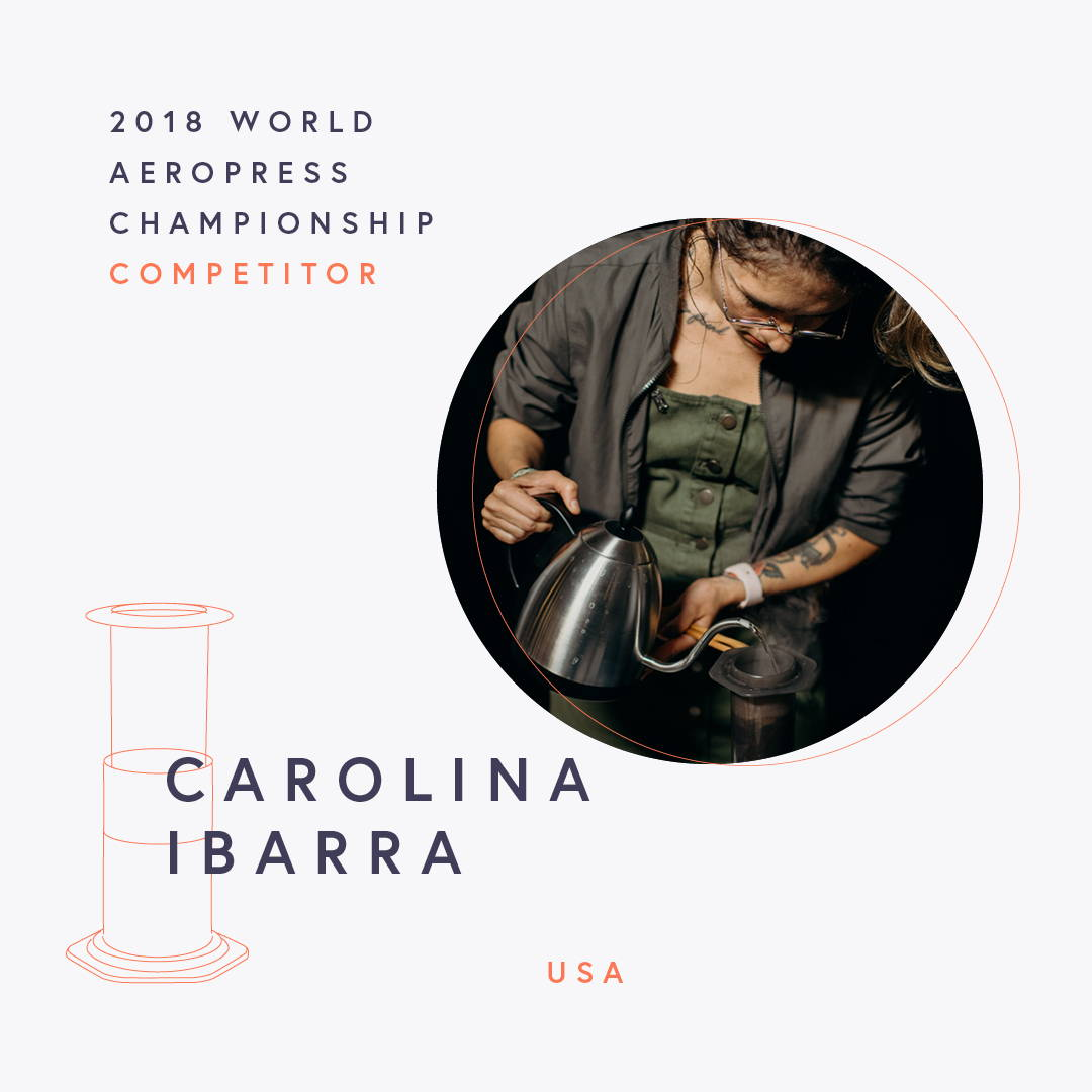 The World AeroPress Championships: Carolina Ibarra