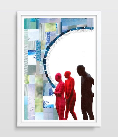Коллаж #71, A3 (42X30 см), бумага, ручная работа