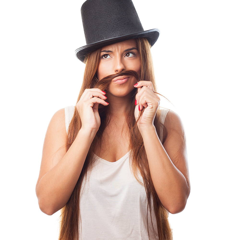 chin hair growth is one of the common menopausal symptoms