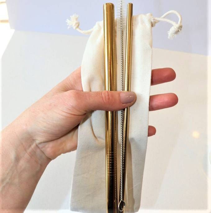 Eco-friendly Stainless Steel Straw Set