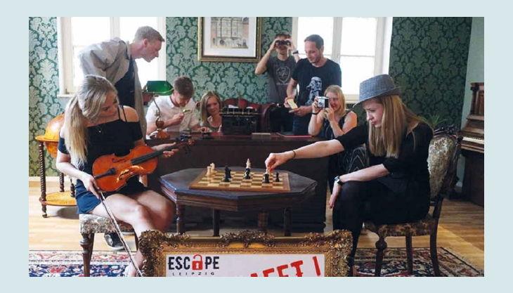 escape leipzig gbr schach musik und rätsel