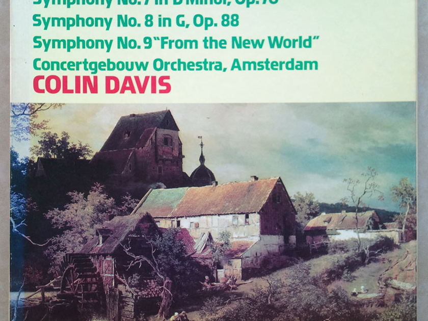 "Philips/Colin Davis/Dvorak - Symphonies Nos. 7, 8 , 9 ""From the new World"" / NM"