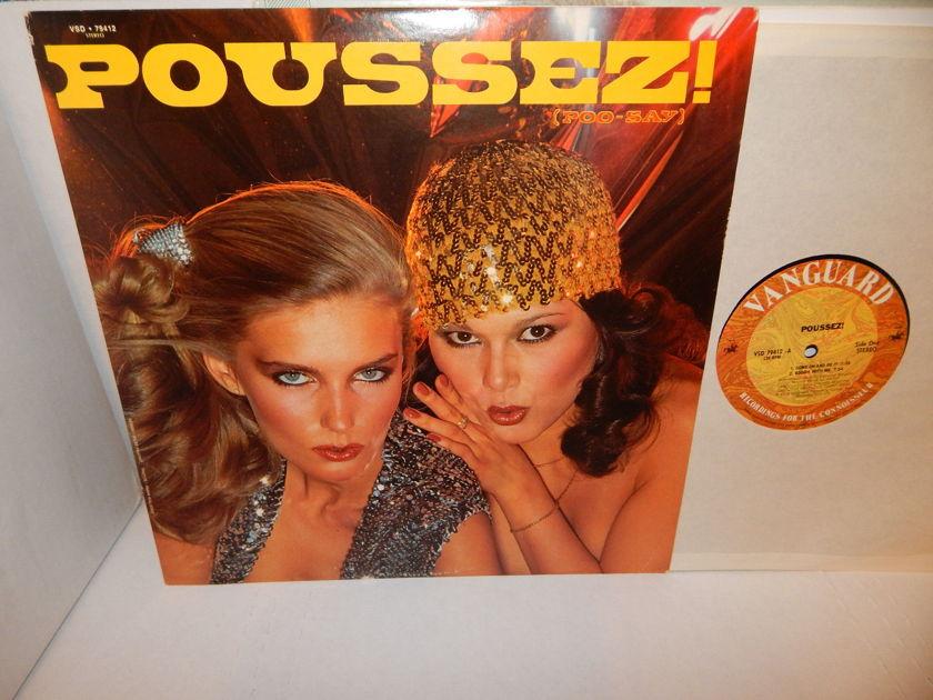 POUSSEZ (poo-say) Alphonse Mouzon - Ray Gomez Randy Brecker 1979 Soul Funk Jazz LP