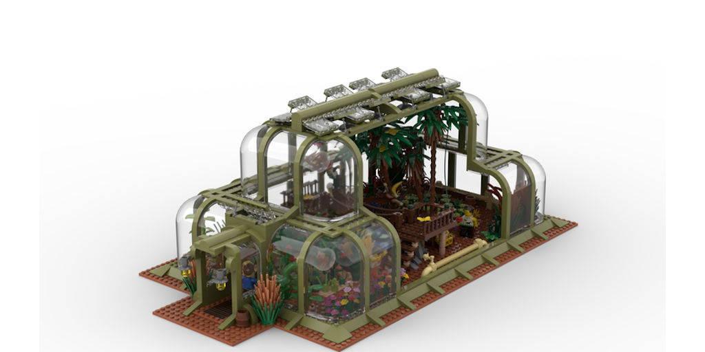lego My botanical house