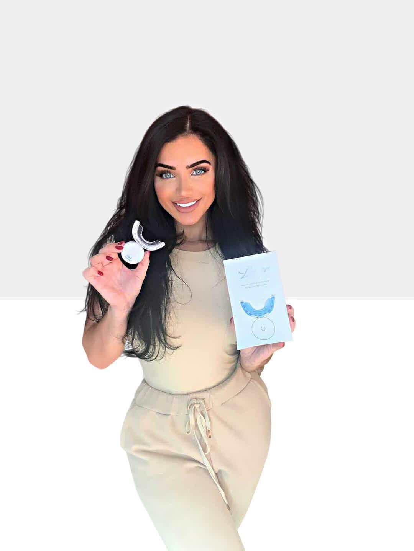 LaserGlow LED Teeth Whitening Kit. Hismile LED Gel Refill Syringe