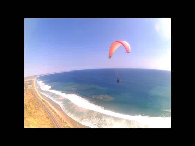 Paragliding-
