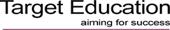Target Education logo
