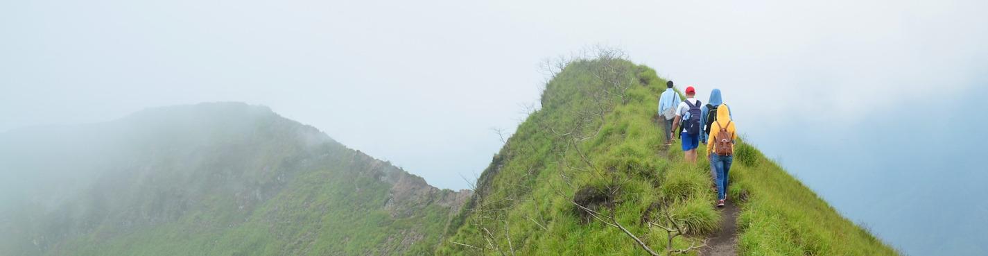Подъем на вулкан Батур