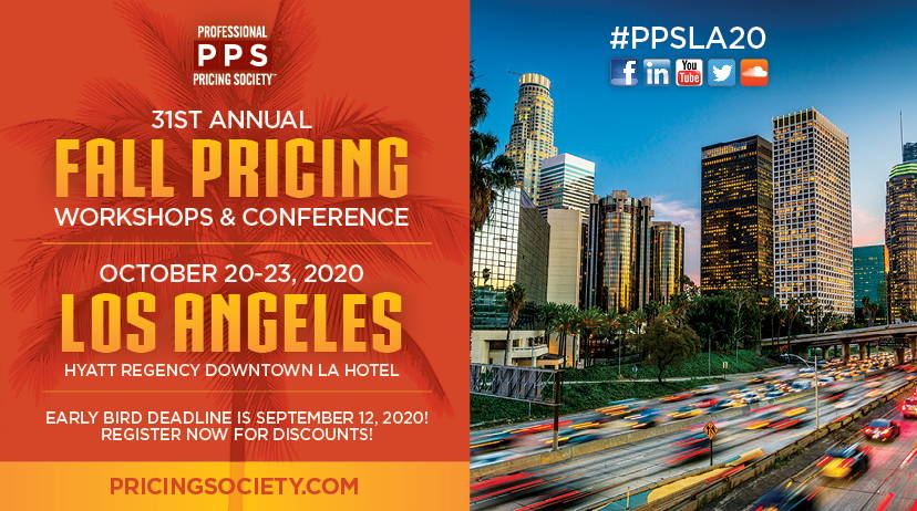PPS Annual Pricing Conference Los Angeles