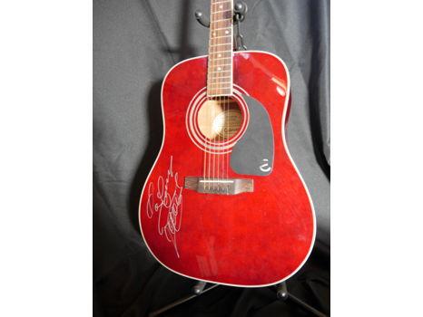 G. Love Autographed Acoustic Epiphone Guitar