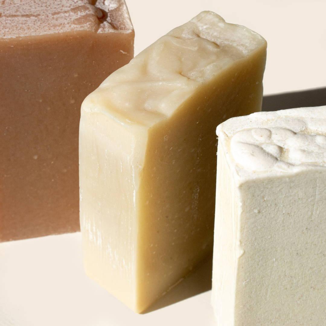 Product shot soap bar range