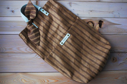 Сумка текстильная с  плечевым ремнем и кошельком