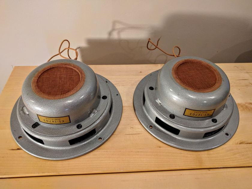 Western Electric Matched Pair KS-14703 Altec 755a All Original Very Rare 1940's