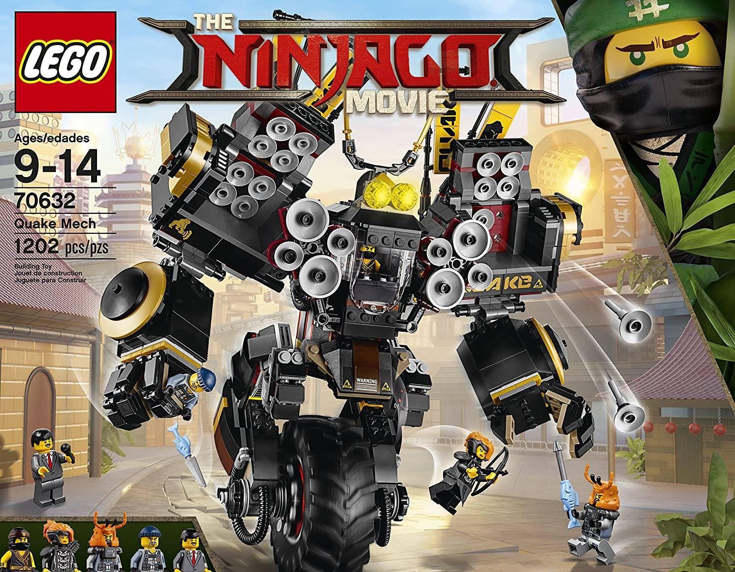 lego ninjago movie coles mech
