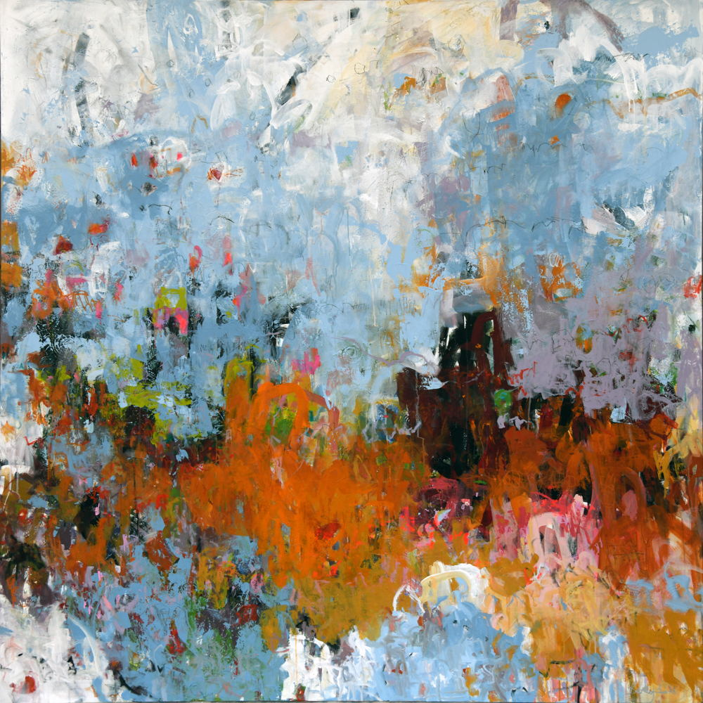Picture of Art exhibition celebrating Nebraska abstract artists at Gallery 1516