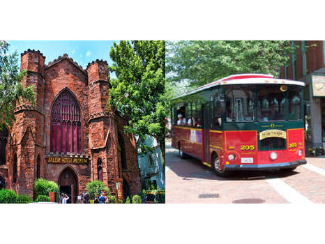 Day Trip to Salem: The Salem Witch Museum, Peabody Essex Museum, & Salem Trolley
