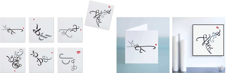 Whitebeam Studio Union cards / prints