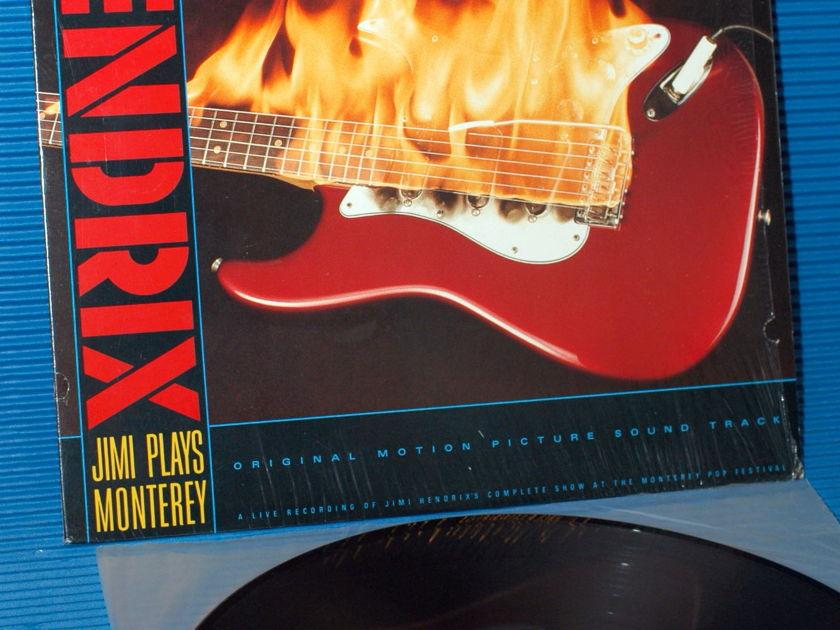 "JIMI HENDRIX   - ""Jimi Plays Monterey"" -  Reprise 1986"