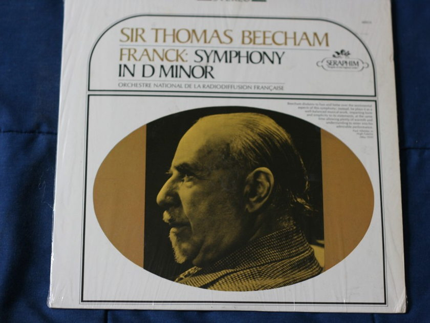 Sir Thomas Beecham - Franck: Symphony In D Minor Stereo S-60012
