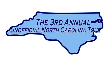 The 3rd Annual Unofficial North Carolina Tour