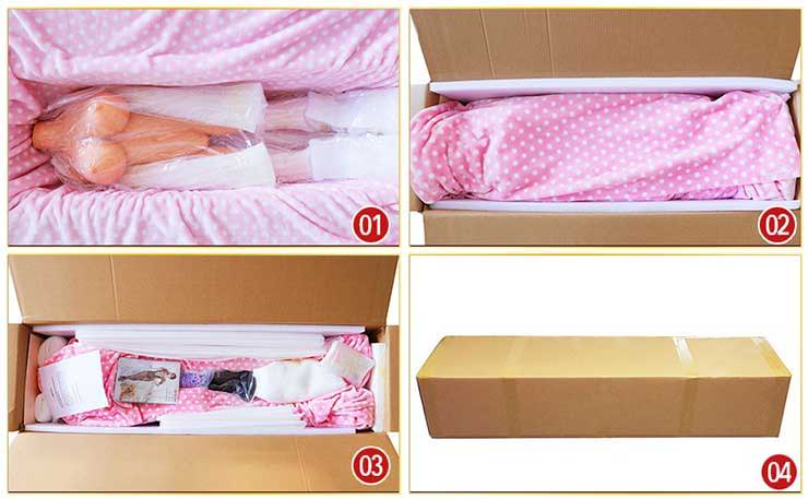 sex doll secret delivery package