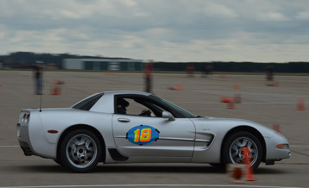 Cruise For A Cause Autocross in the Dells