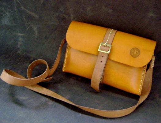 Небольшая женская сумочка ручной работы из натуральной кожи, mini