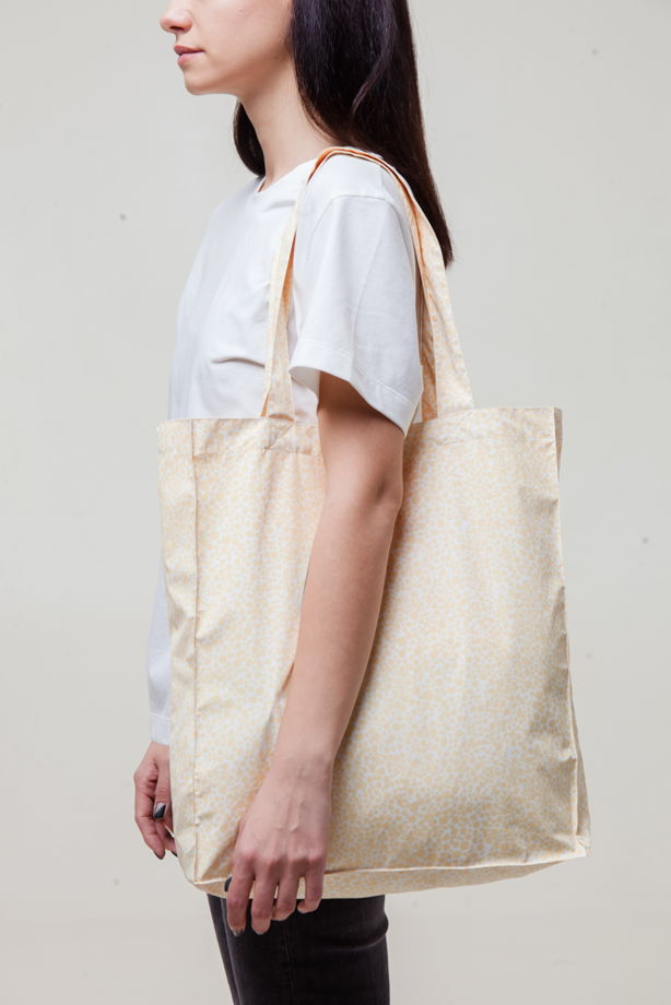 Шоппер  непромокаемая Shopping bag Yellow Print