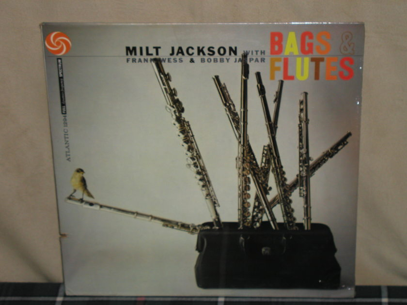 Milt Jackson/Frank Wess+Bobby Jaspar - Bags&Flutes   Still SEALED From 70's. (Not recent press)