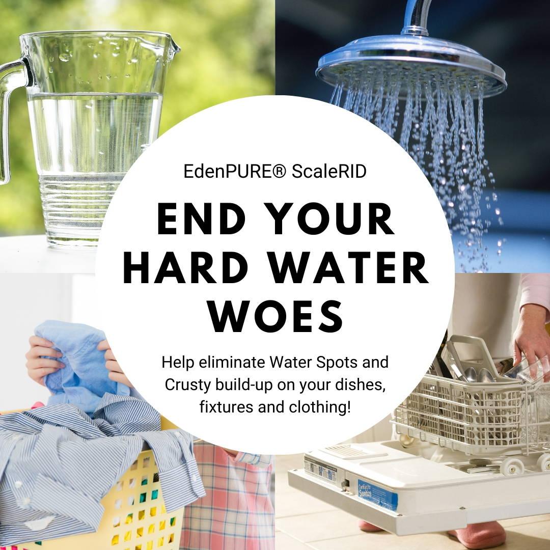 EdenPURE ScaleRID Hard Water Treatment System