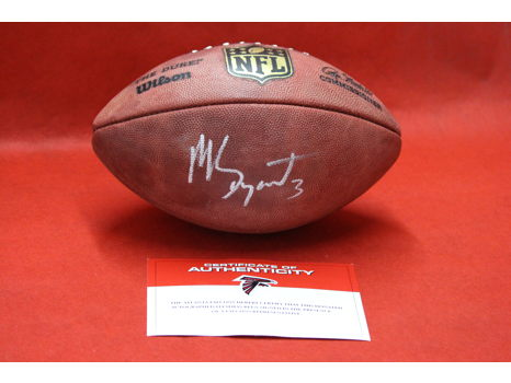 Matt Bryant Autographed Football