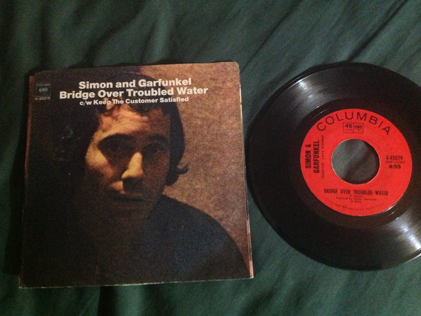 Simon/Garfunkel - Bridge  Over Troubled Water  45 With Sleeve