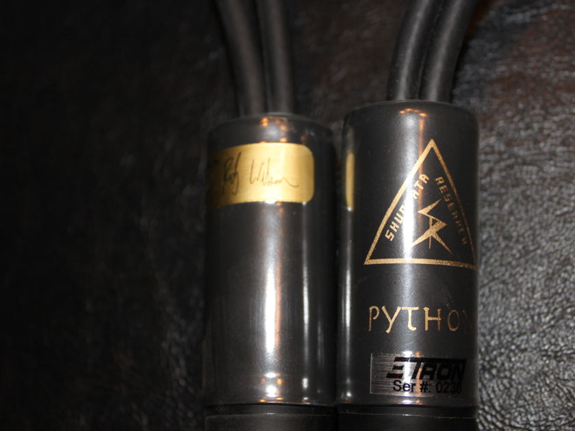 Shunyata  Python Speaker Cable 2.5 meter (8ft) 1/4 in.