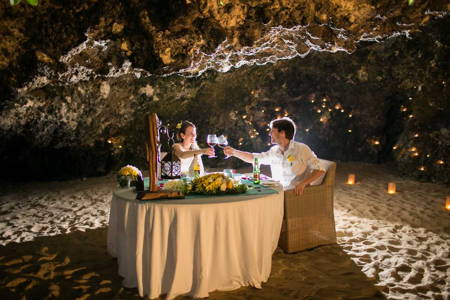 Five Course Meal in a Romantic Secret Cave