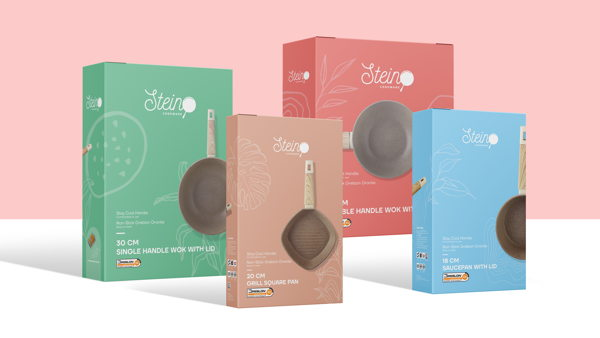 Stein Cookware inspired by young mom's