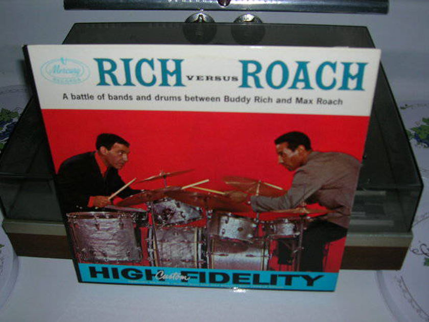 Buddy Rich And - Max Roach - Rich versus roach - orig. 1959 mono