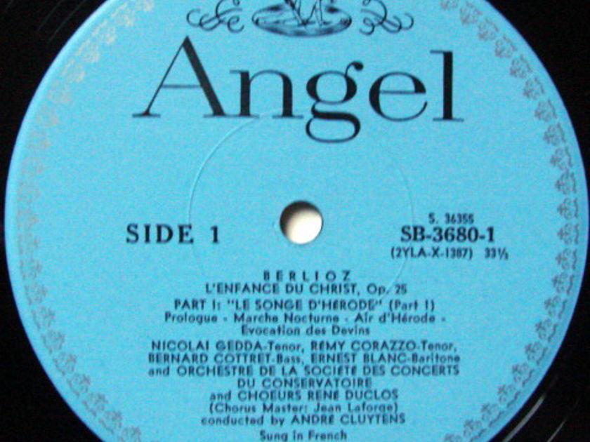 EMI Angel Blue / CLUYTENS, - Berlioz L'Enfance du Christ,  NM, 2LP Box Set!