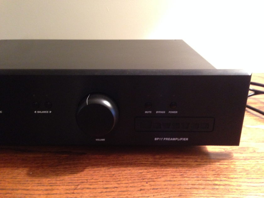 Bryston BP-17 preamp with Remote