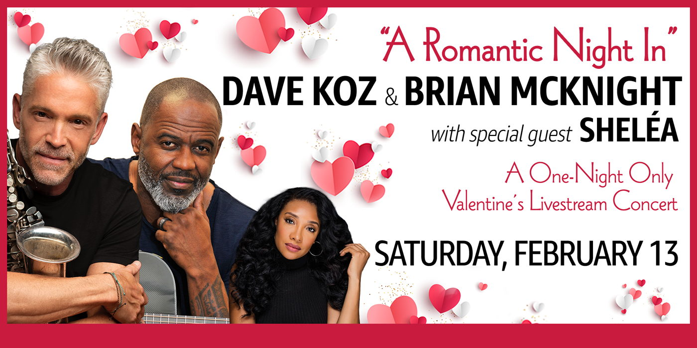 A Romantic Night In featuring Dave Koz and Brian McKnight at the Shubert Theatre