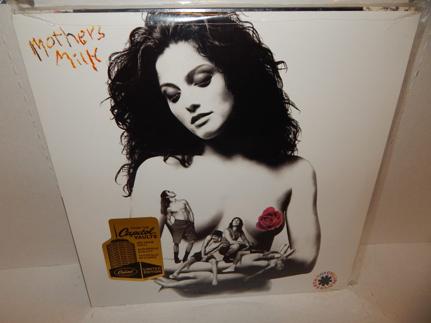 RED HOT CHILI PEPPERS - Mother's Milk 180 Gram Audiophile & Sticker Brand New FACTORY SEALED MINT LP