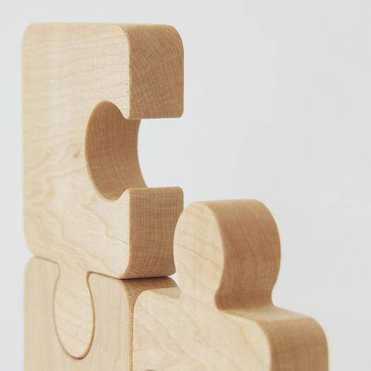 Деревянный Пазл для малышей