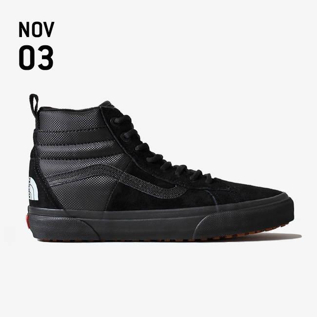 5216780cfbd82e Vans X The North Face SK8-Hi 46 MTE DX Shoes - Black Black – Urban ...
