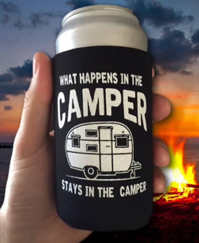 Happy Camper Bracelet, Camping Gift, Camping Charm Bracelet