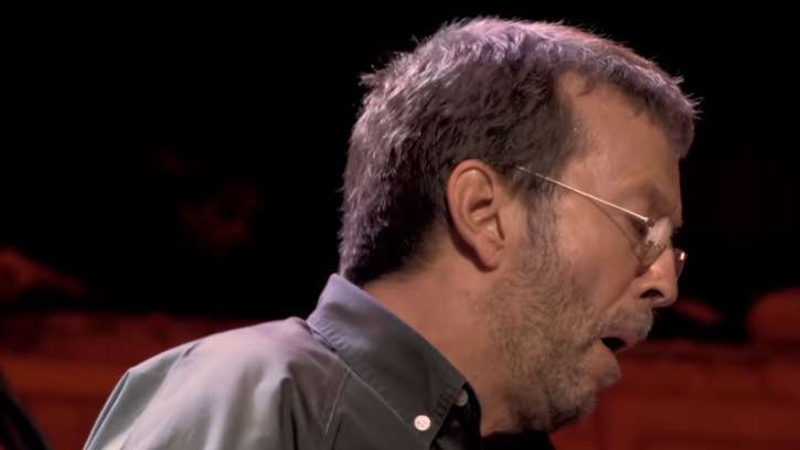 """RARE: Three guys from the original recording """"While My Guitar Gently Weeps"""" - Eric Clapton Cried."""